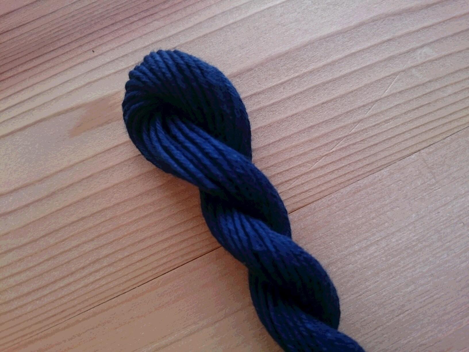 阿波藍 藍色